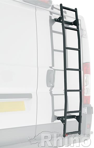 Ford Transit Rhino Van 7 Step Rear Door Ladder H2 Medium Roof  sc 1 st  Plyline UK & Ford Transit Rhino Van 7 Step Rear Door Ladder H2 Medium Roof ...