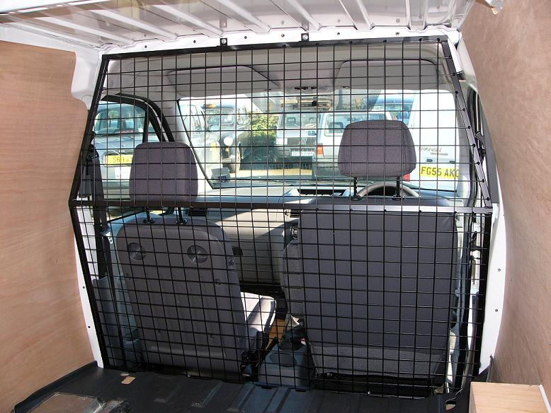 Renault Kangoo Van Wire Mesh Bulkhead Srs Plyline Uk