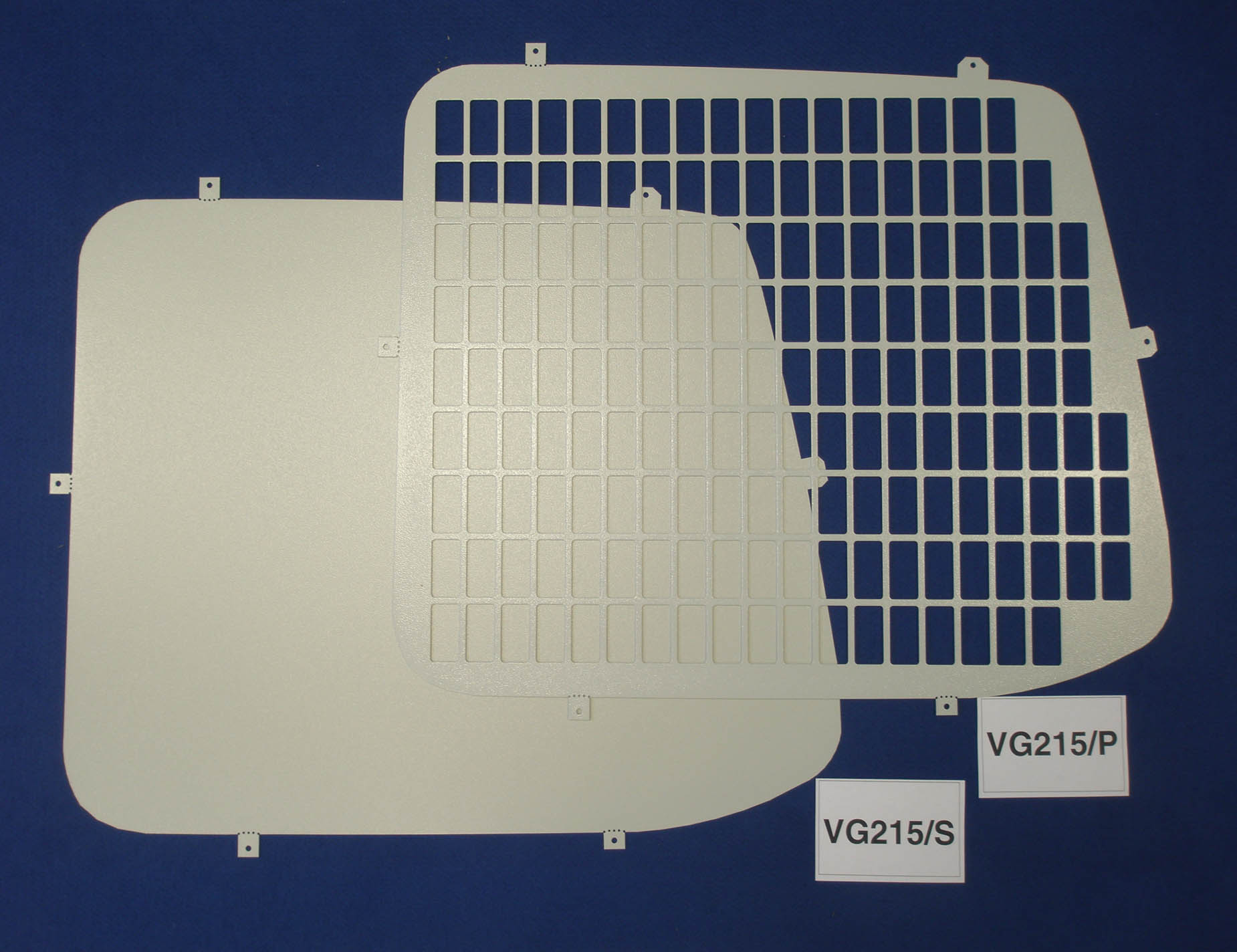 Volkswagen Vw T5 Transporter Van Rear Window Grilles