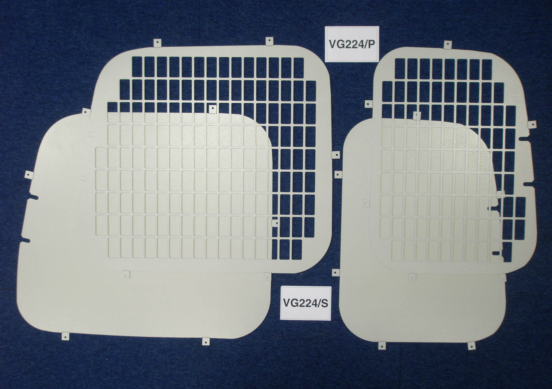 Volkswagen Vw Caddy Van Rear Window Grilles Amp Blanks