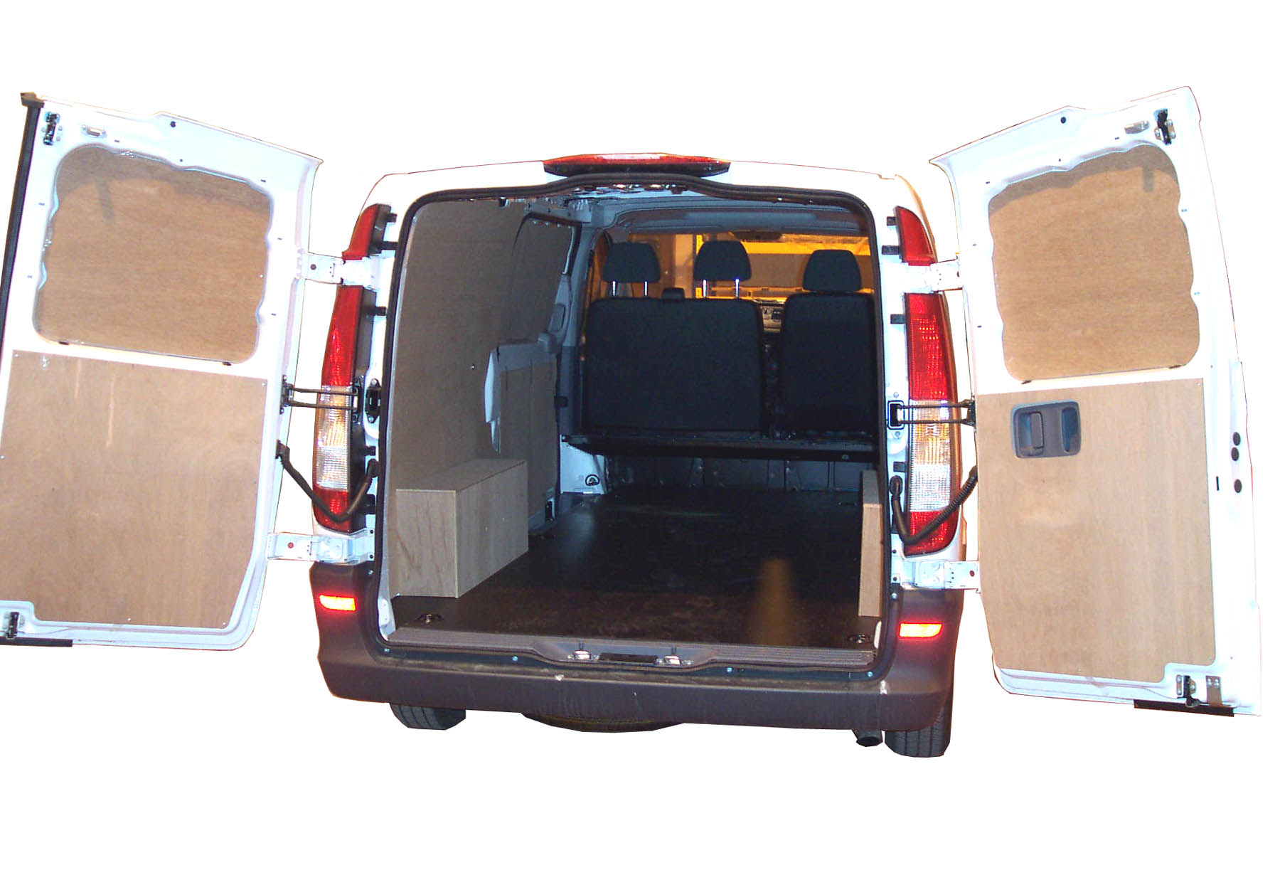 Mercedes Short Wheel Base Vito Van Ply Lining Kit  2004 2014