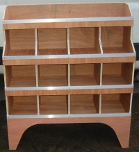 Van Plywood Shelving Racking Pigeon Hole System Ply
