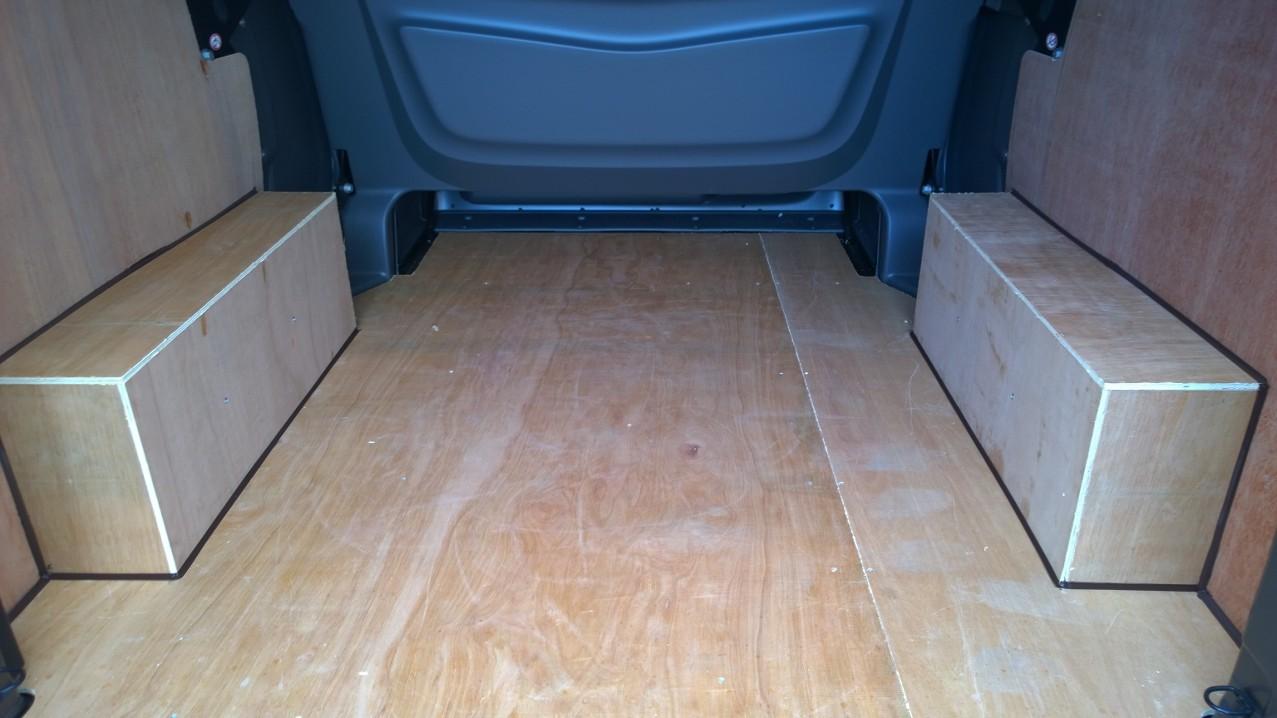 2014 On New Shape Lwb Vivaro Trafic Double Cab Plyline
