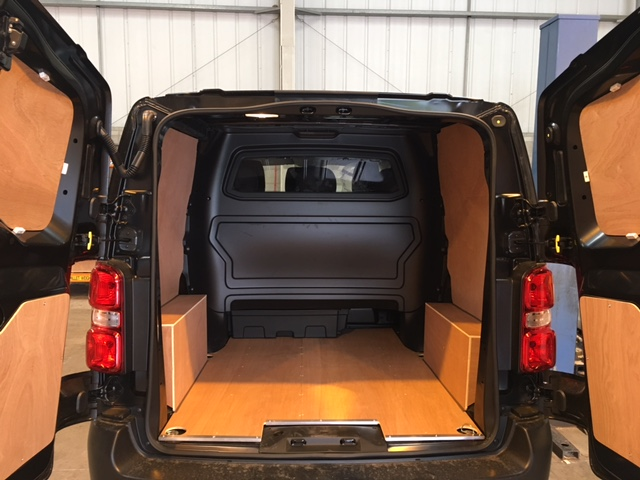New Shape Citroen Dispatch Van Ply Lining Kit Std M Double