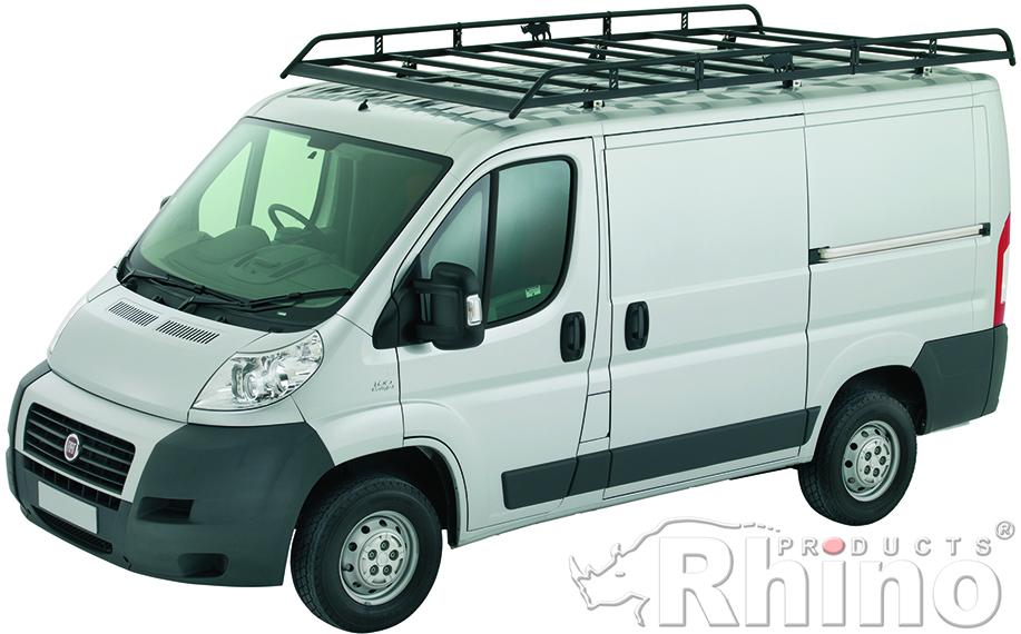 Van Roof Racks >> Citroen Relay Rhino Van Roof Rack 2007 On Mwb High Roof L2 H2