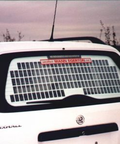 Vauxhall Astra Van Tailgate Grille & Blank - 1998 to Aug 2006 VG122