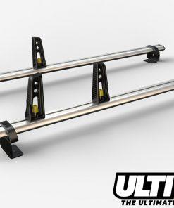 2 Bar Reinforced Aluminium Roof Bars For The Short Wheel Base Ford Transit Connect Van VG201/2