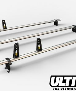 3 Bar Reinforced Aluminium Roof Bars For The Fiat Ducato Van Oct 2006 On VG245/3