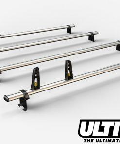 4 Bar Reinforced Aluminium Roof Bars For The Fiat Ducato Van Oct 06 On VG245/4