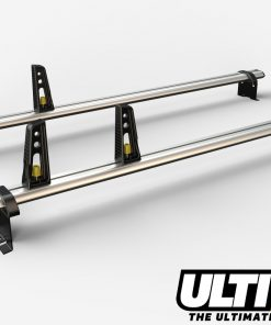 2 Bar Reinforced Aluminium Roof Bars For The Low Roof Fiat Scudo Van 07 On H1 VG248/2