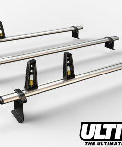 3 Bar Heavy Duty Aluminium Roof Bars For The Peugeot Bipper Van VG270-3