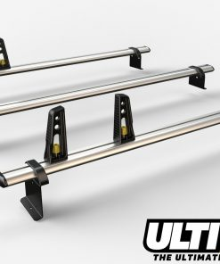 3 Bar Reinforced Aluminium Roof Bars For The Fiat Fiorino Van VG270-3