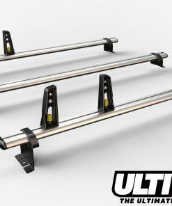 3 Bar Heavy Duty Aluminium Roof Bars For The 2008 Peugeot Partner Van VG271-3