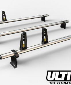 3 Bar Heavy Duty Aluminium Roof Bars For The Peugeot Expert Van VG86