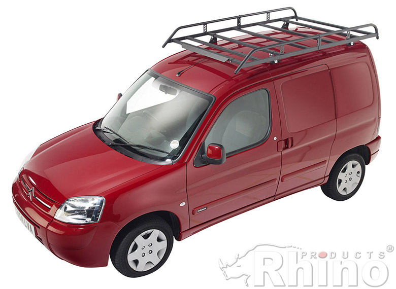 Citroen Berlingo First Rhino Van Roof Rack Twin Rear Door
