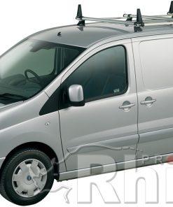 Peugeot Expert Rhino 3 Bar Van Roof Bar System 2007 On Lwb Low Roof L2 H1 JA3D-B43H