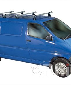 Toyota Hi-Ace Rhino 4 Bar Van Roof Bar System Lwb Tailgate Rear Door S4D-B44