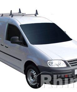 VW Caddy Maxi  Rhino 3 Bar Van Delta Roof Bar System KB3D-B23
