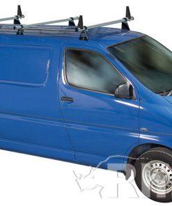Toyota Hi-Ace Rhino 3 Bar Van Roof Bar System Lwb Tailgate Rear Door SL3D-B43