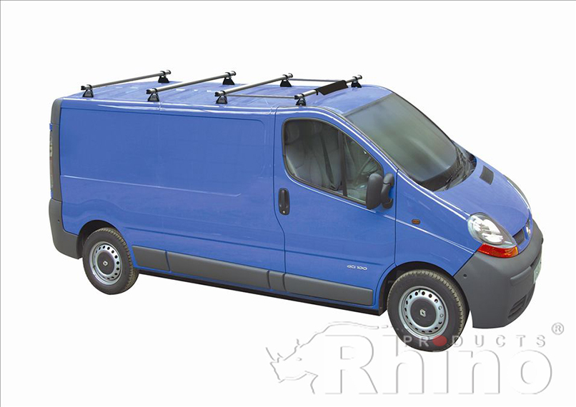 Renault Trafic Pre Sept 2014 Rhino 4 Bar Van Roof Bar
