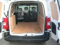 Full Peugeot New 2008 Partner Van Ply Lining Kit Swb L1
