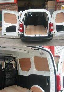 Citroen New 2008 Berlingo Van Ply Lining Basic Kit Swb L1