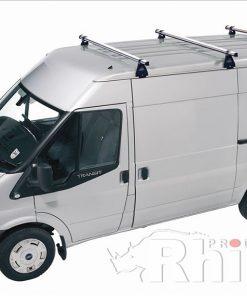 Ford Transit Rhino 3 Bar Van Roof Bar System Lwb Medium Roof A3D-B83