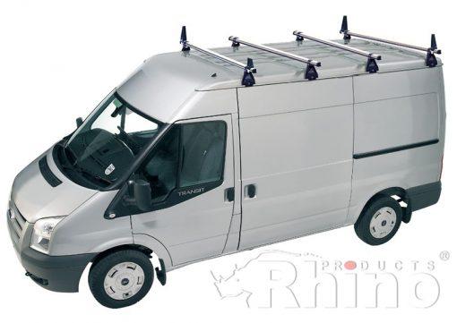Ford Transit Rhino 4 Bar Van Roof Bar System Mwb Medium Roof A4D-B84