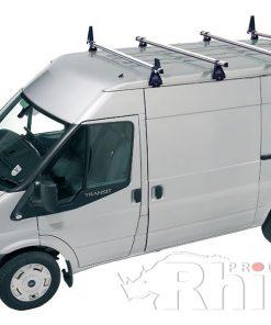 Ford Transit Rhino 4 Bar Van Roof Bar System Lwb Medium Roof A4D-B84