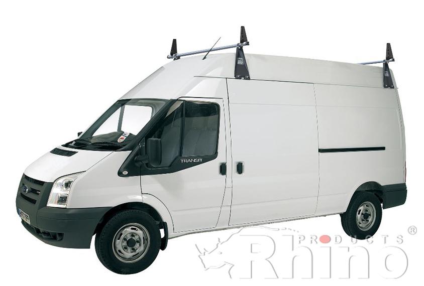 Pre 2014 Ford Transit Rhino 2 Bar Van Roof Bar System Mwb