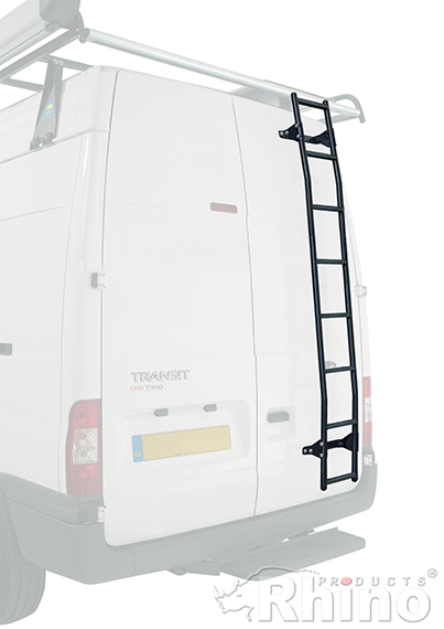 Ford Transit Rhino Van 8 Step Rear Door Ladder H3 High
