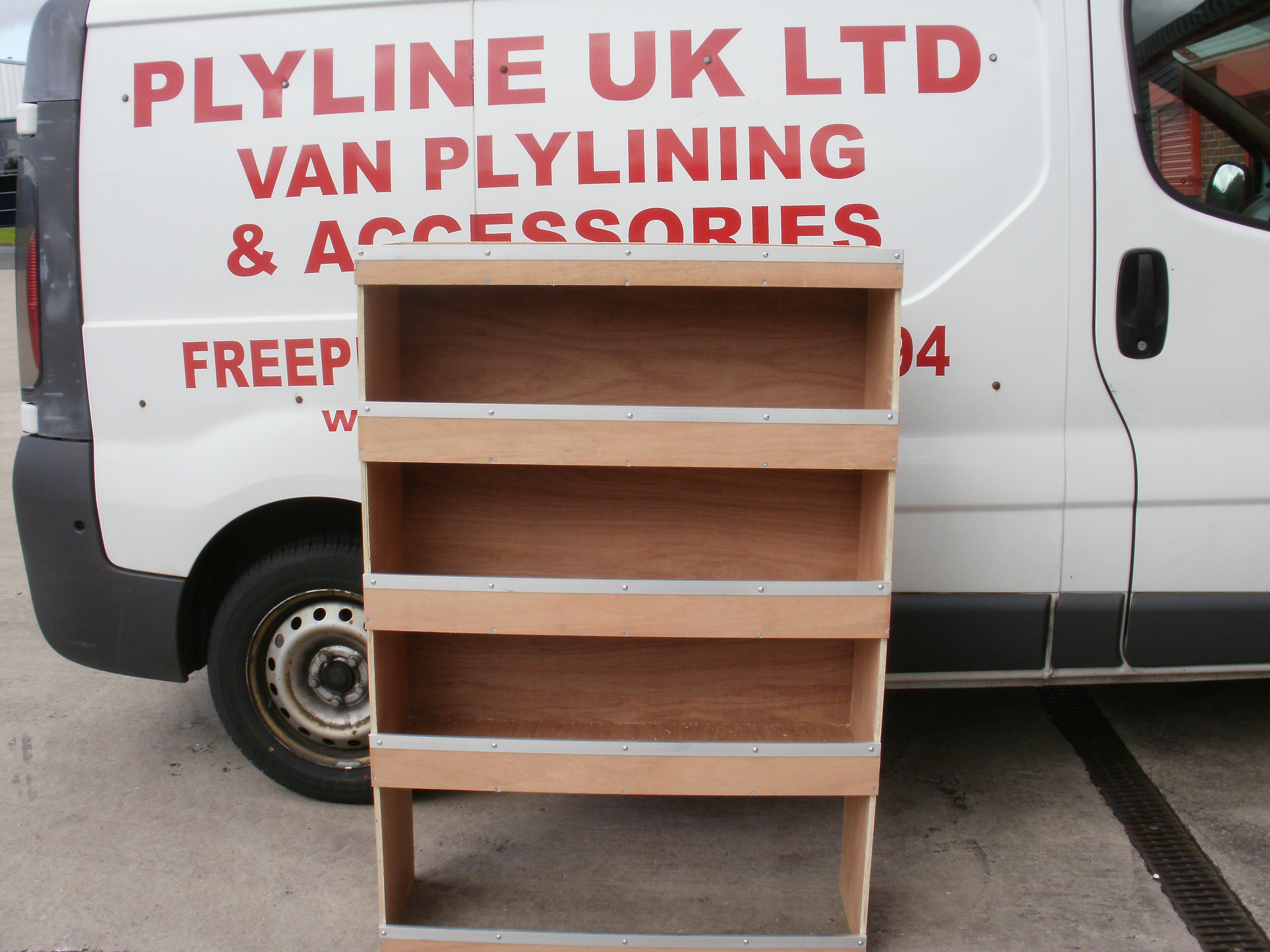 Plywood Shelving System 3ft X 4ft X 1ft Plyline Uk