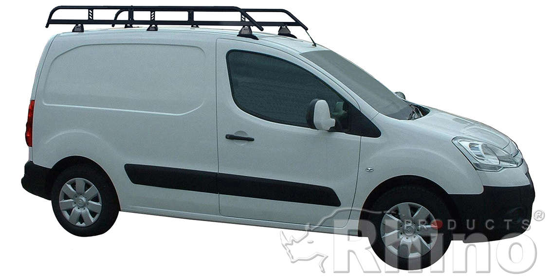 Peugeot Partner Rhino Van Roof Rack 2008 2018 Plyline