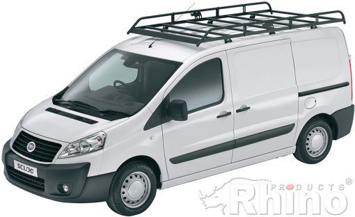 Fiat Scudo Rhino Van Roof Rack 2007 On Swb Low Roof L1 H1 R551