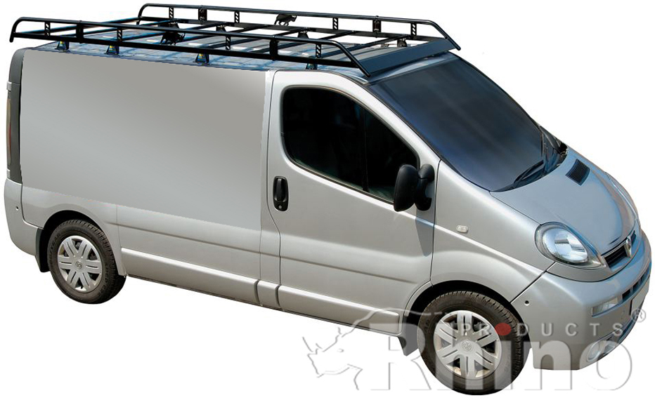 Van Roof Racks >> Vauxhall Vivaro Pre Sept 2014 Rhino Van Roof Rack Swb Low Roof
