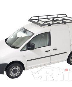 VW Caddy Maxi Rhino Van Roof Rack Twin Rear Door R586