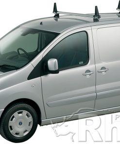Peugeot Expert Rhino 2 Bar Van Roof Bar System 2007 On Swb Low Roof L1 H1 JA2D-B42