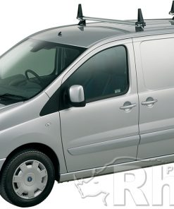 Peugeot Expert Rhino 2 Bar Van Roof Bar System 2007 On Lwb Low Roof L2 H1 JA2D-B42