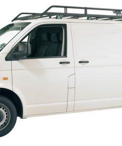 VW T5 Transporter Rhino Van Roof Rack Lwb Tailgate Rear Door R510