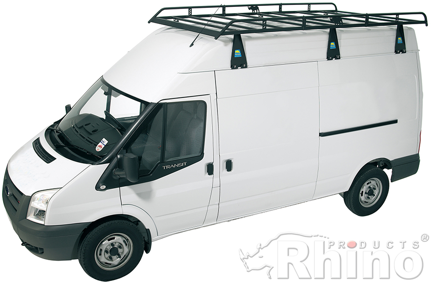 Van Roof Racks >> Ford Transit Rhino Van Roof Rack Swb Medium Roof