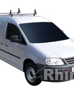 VW Caddy Maxi Rhino 2 Bar Van Roof Bar System KB2D-B22