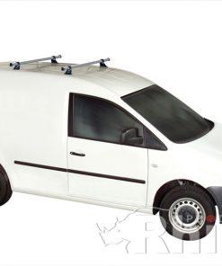 VW Caddy Rhino 2 Bar Van Roof Bar System 2004 On KA2D-B22