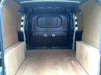 Fiat Doblo 2010 On Van Ply Lining Kit