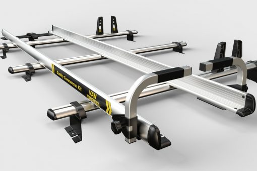 3 Mtr Aluminium Ladder Slides Including Stainless Steel Roller VG92-30S