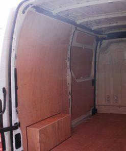 Renault Medium Wheel Base Master 2010 On Van Ply Lining Kit