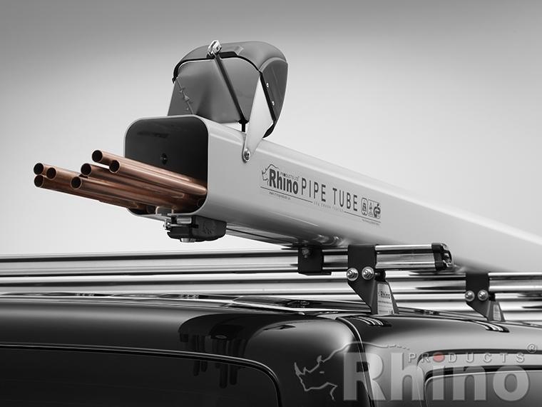 Rhino Rp10 Roof Rack Aluminium 2m Pipe Carrier Plyline