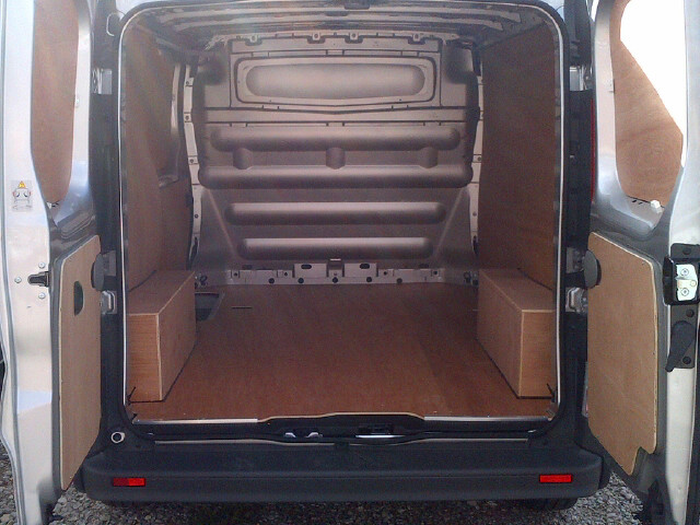 Nissan Short Wheel Base Primastar Van Ply Lining Kit