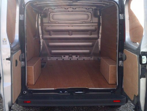 Renault Short Wheel Base Trafic Van Ply Lining Kit