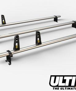 3 Bar Heavy Duty Aluminium Roof Bars For The Citroen Relay Pre Oct 06 VG100