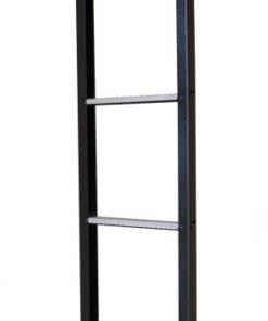 Galvanized 6 step ladder with aluminium anti slip treads VG116
